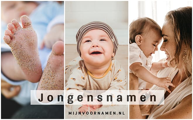 Jongensnamen - Babynamen